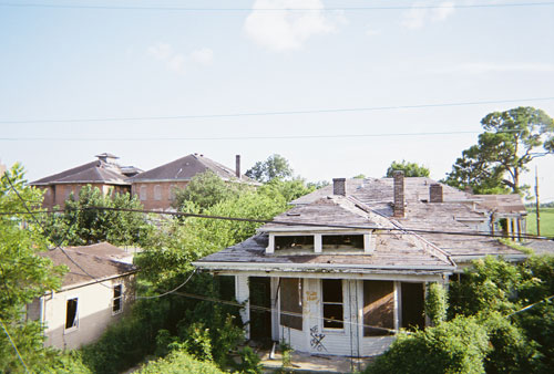A view of remaining damage from Katrina 5 years after