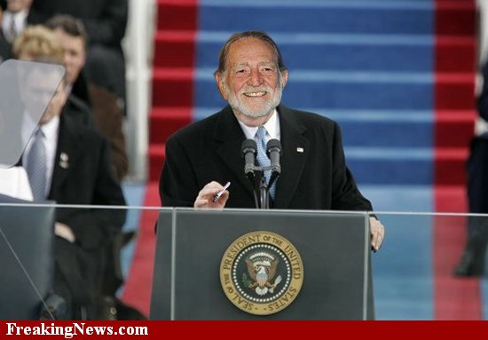 President Willie Nelson