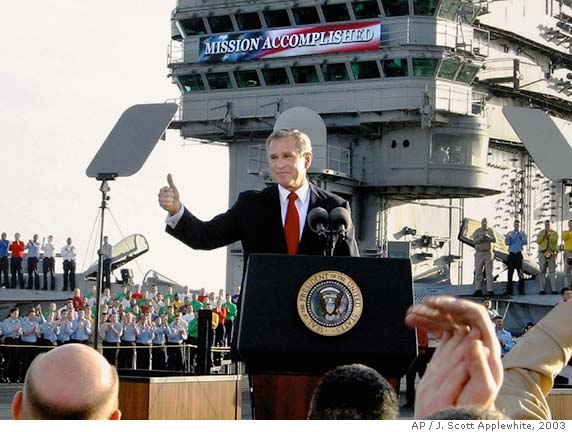 mission accomplished Bushs lasting legacy
