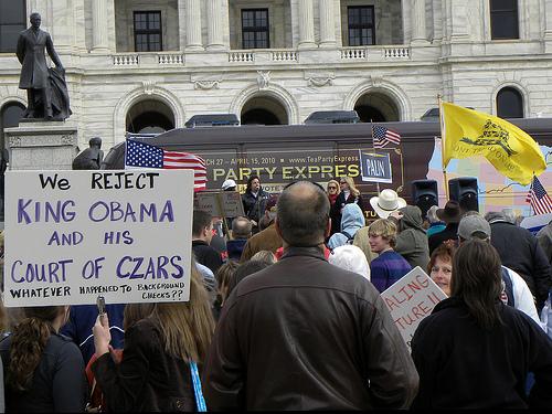 Tea Party Express at Minnesota Capitol